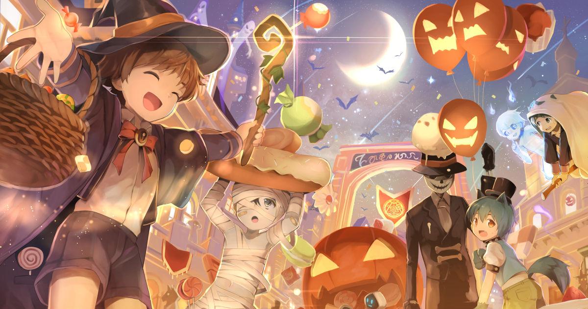 Halloween, Fancy Costumes and Pumpkins♪