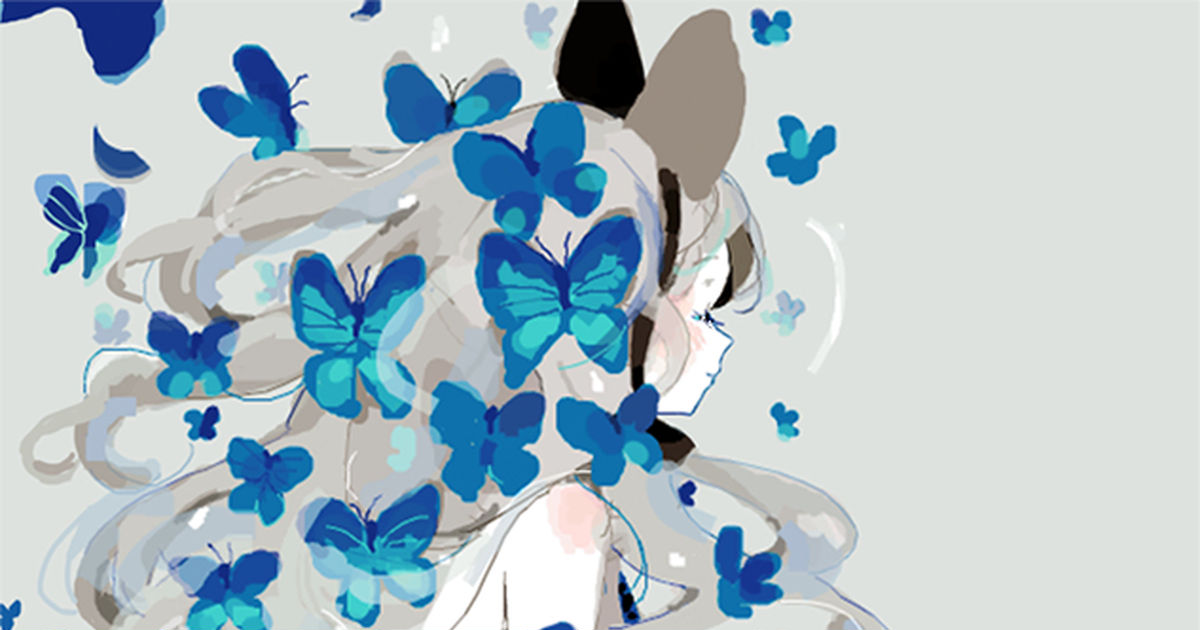 蝶々 イラスト