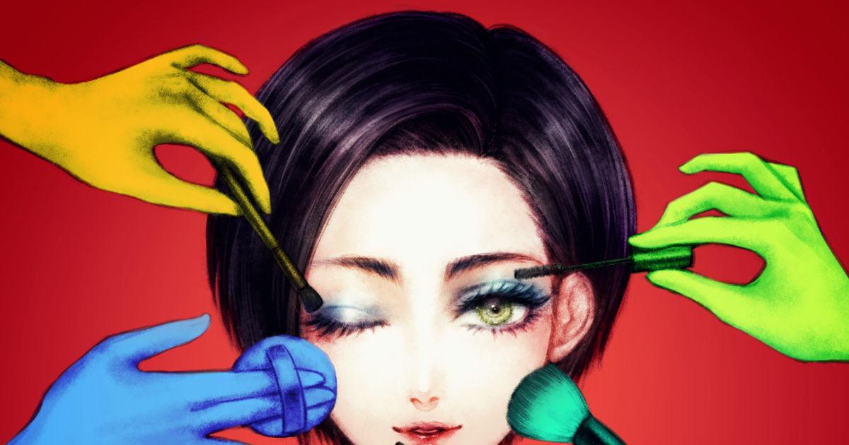 Time to shine! Makeup × Girls