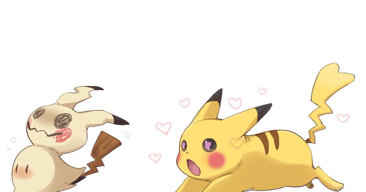 Pikachu and Mimicyu!