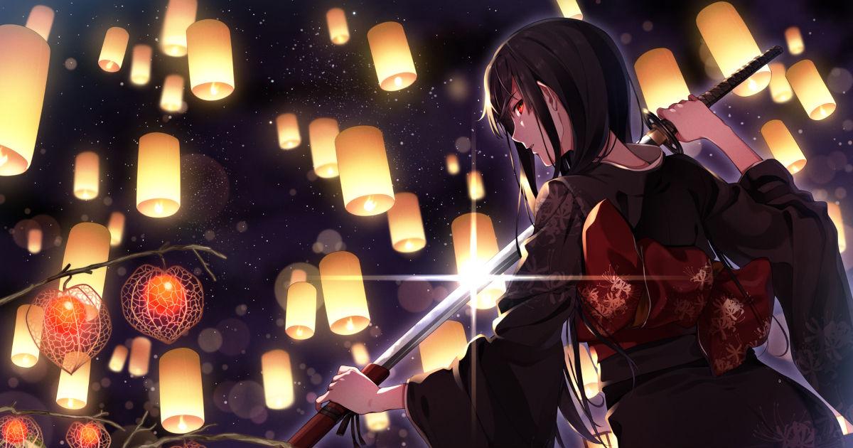 Your beauty dwells in the edge of your sword. Swordswomen