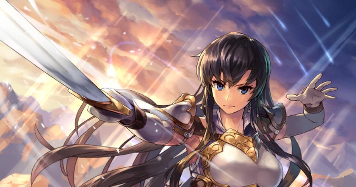 女剣士のイラスト特集 凛々しさが宿る刀剣 Pixivision
