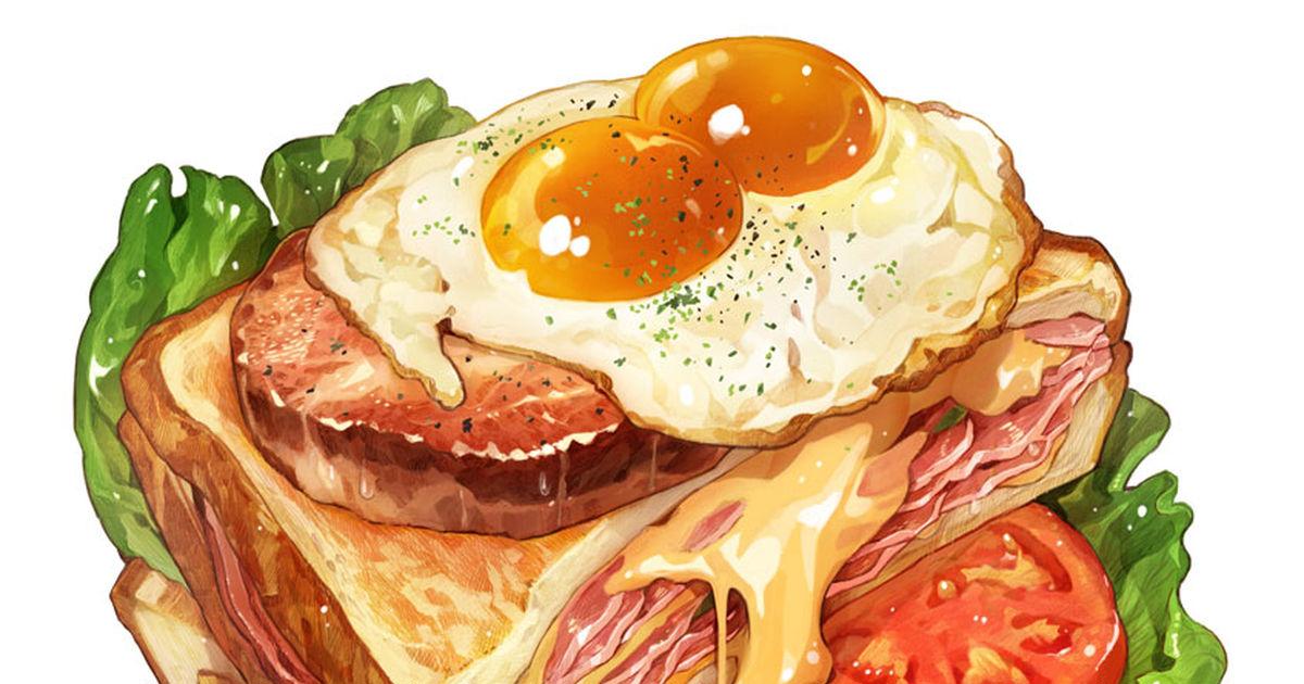 おしゃれな食べ物のイラスト特集 - pixivカフェへようこそ♡ - pixivision