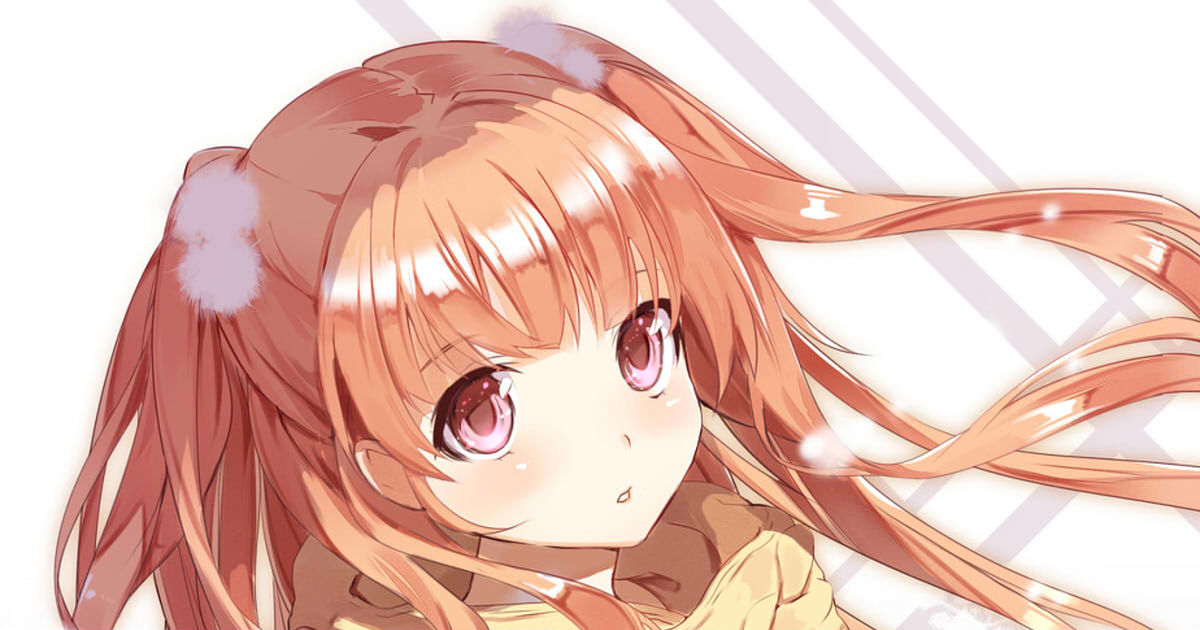 """The heroine's standard hairstyle! """"Two-side ups""""!"""