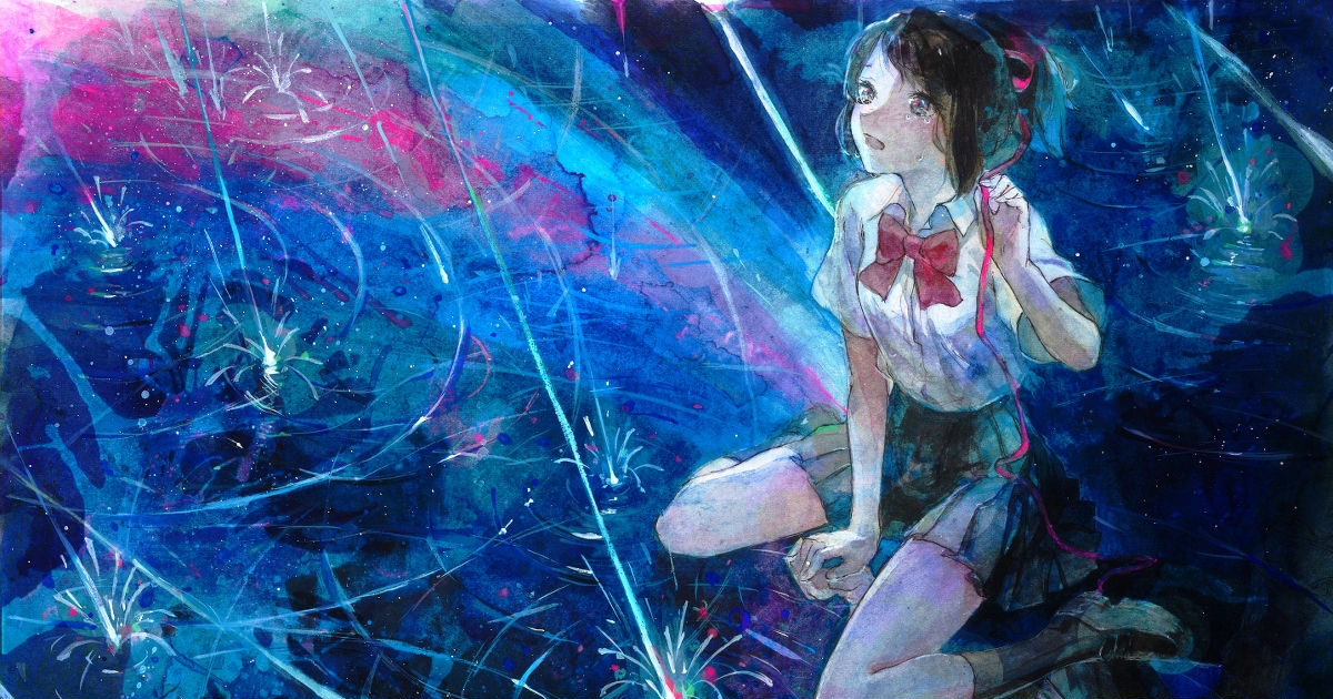 Magical sights ♡ Transparent Watercolor Drawings