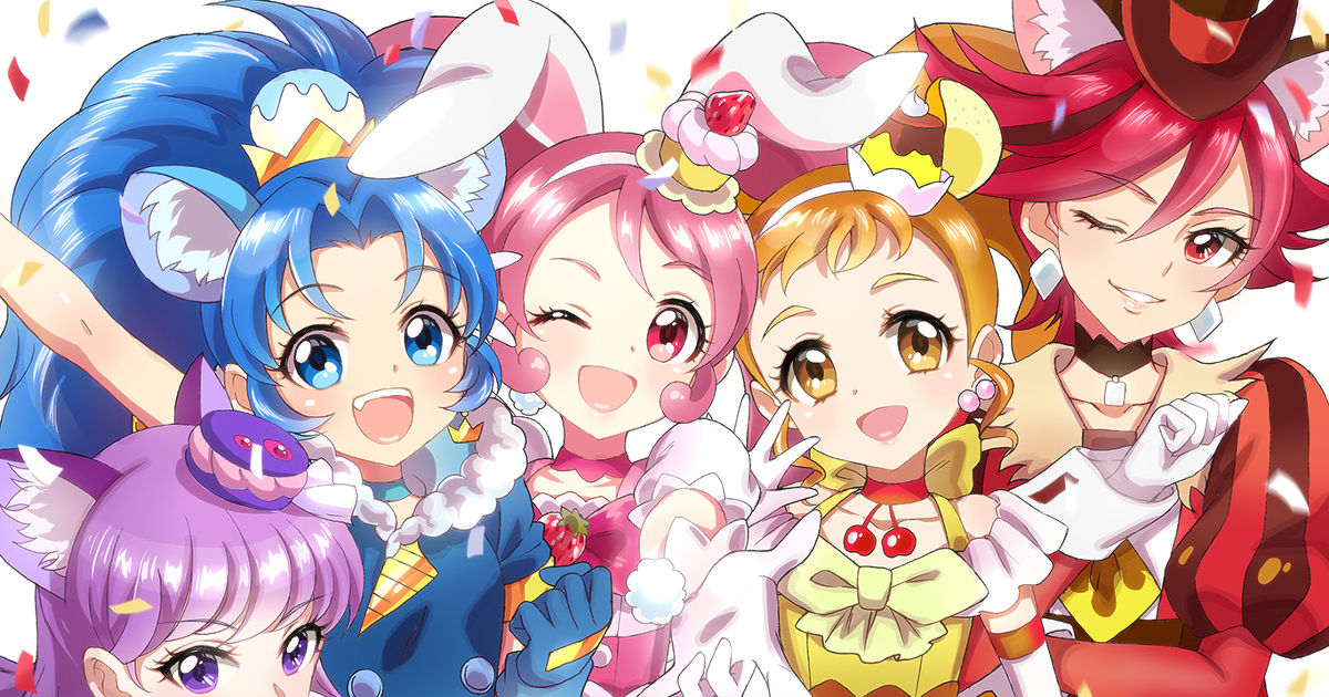 """Kirakira PreCure a la Mode"" Drawing Collection"