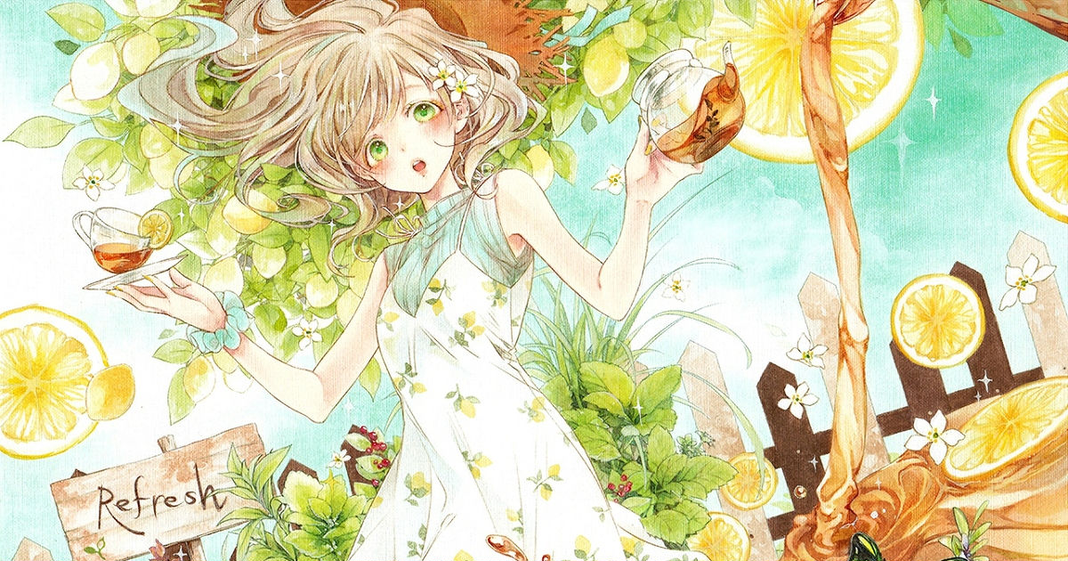 I can smell your sweet fragrance already♡ Drawings of citrus fruits that will make you feel refreshed!