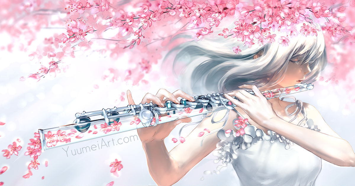 Fairies and birds, sing with me! Flutes