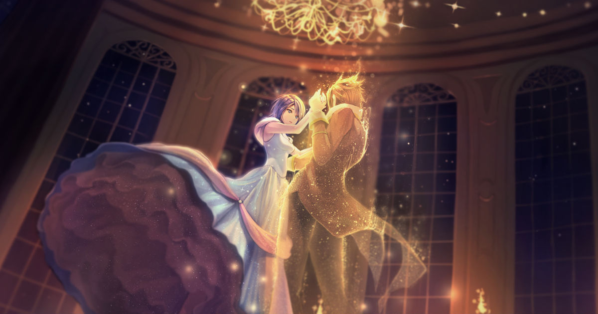 A dreamlike moment. Would you do me the honor of a dance tonight?