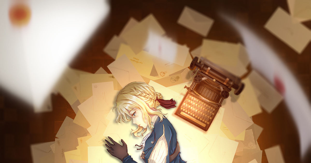 """A brand new film to be released in January 2020. """"Violet Evergarden"""" Fan-arts"""