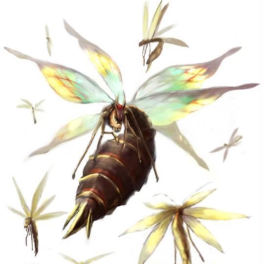 モンハン 4g 雷光 虫