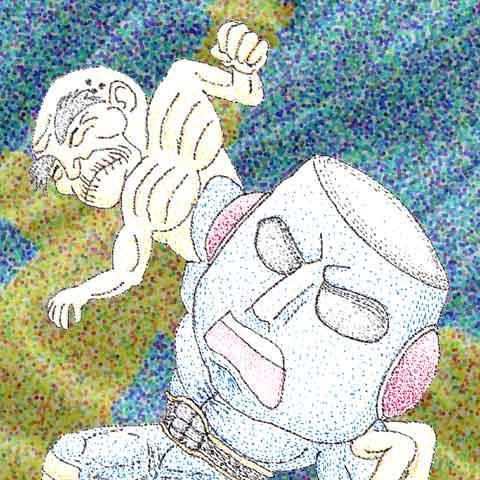 フリーマン バリア 新世代悪行超人(キン肉マンⅡ世)