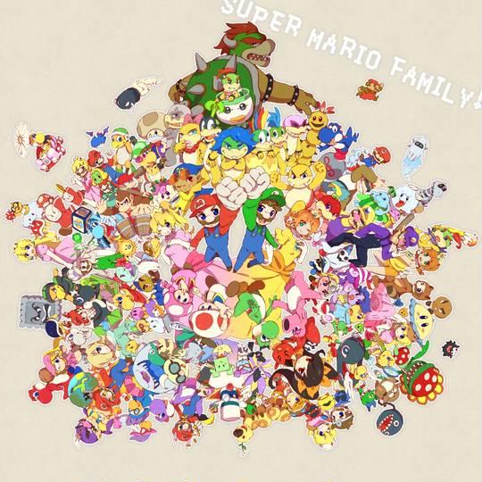 キャラクター 一覧 マリオ