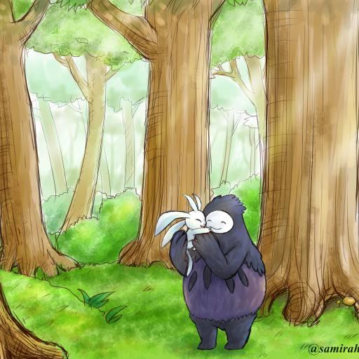 オリ と くらや み の 森