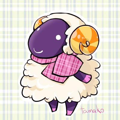 羊 あつ 森