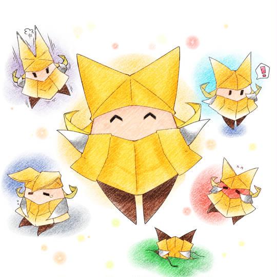 折り 方 キング オリガミ