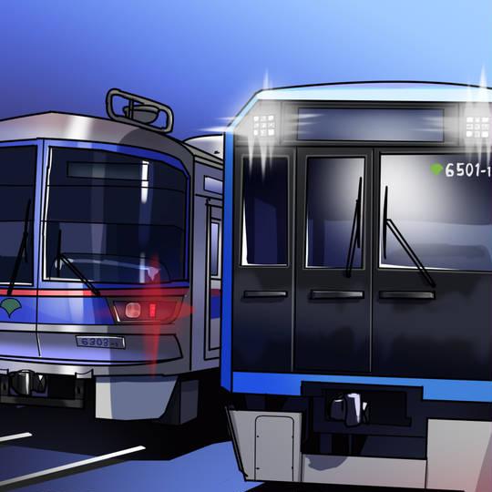 三田 車両 新型 都営 線 【6300形置き換え】新型車両都営6500形の姿が初めて明らかに あおなみ線みたい?