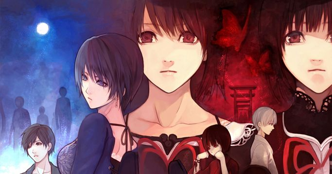 The darkness is inviting. Illustrations of Japanese Horror Video Games