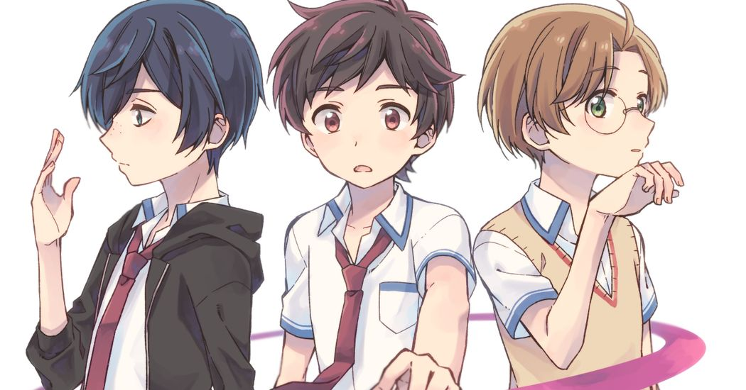 Sarazanmai is on the rise! Illustrations by the Director Kunihiko Ikuhara