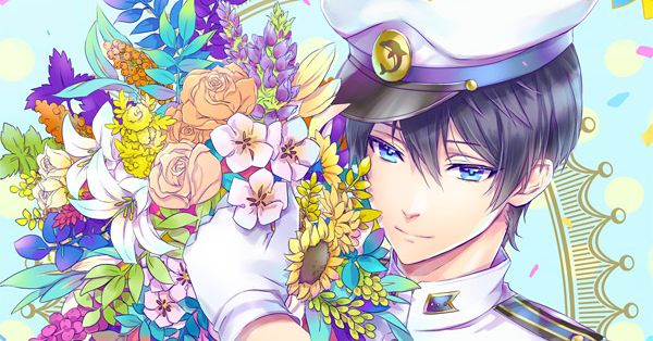 Surrounding you with brilliance.  Illustrations of Boys with Bouquets
