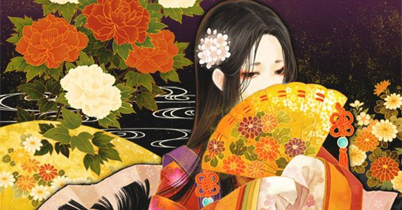 Graceful Japanese beauty. Junihitoe's Illustrations