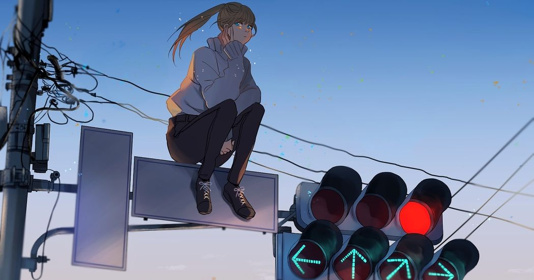 Protecting security with 3 lights. Illustrations of Traffic Lights