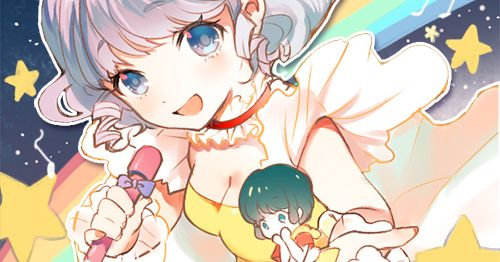 Magic in a stick! Illustrations of Magical Girls