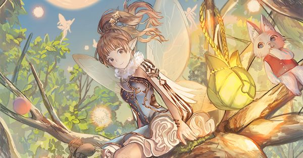 Right by your side. Illustrations of Fairies
