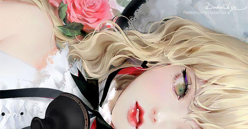 Magnificent petals, dangerous thorns. Illustrations of Roses