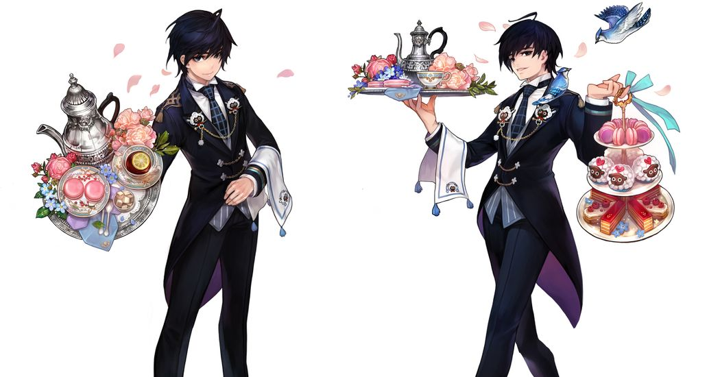 I Pledge My Loyalty to You!  Illustrations of Butlers
