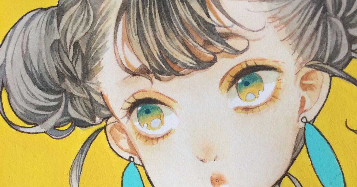Drawings of Chignon Buns - Your cute hair bun♡