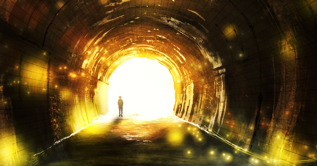 Drawings of Tunnels - What lies beyond the other side?