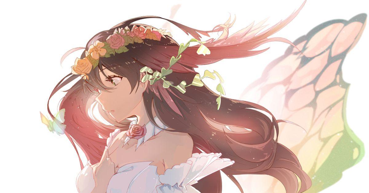 Drawings of Flower Crowns - Wearing Flowers, You Shine.