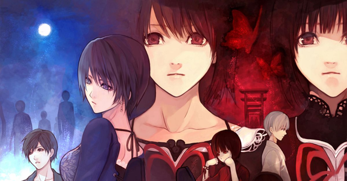 Drawings of Japanese Horror Video Games - The darkness is inviting.