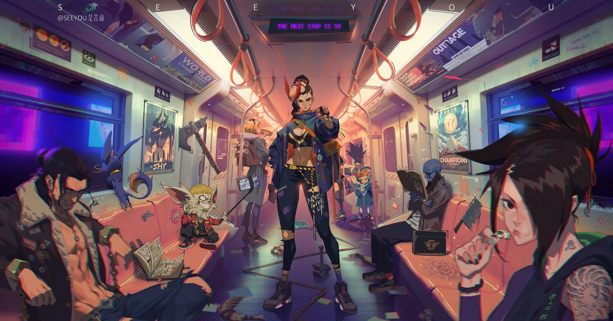 Drawings of Train Interiors - The Next Station is…