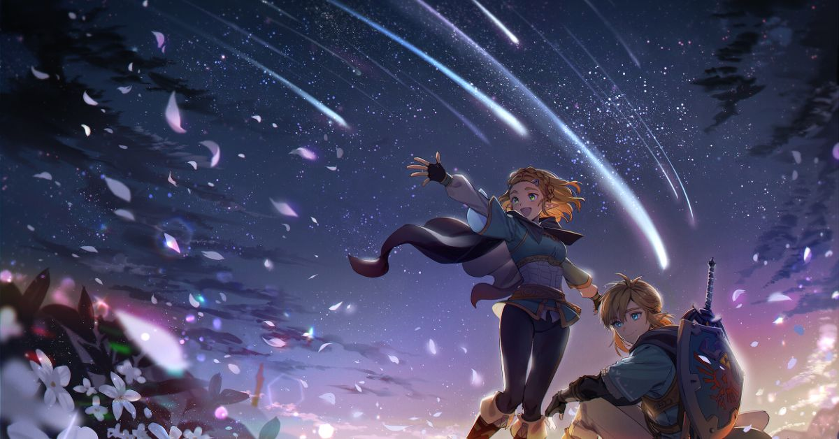 Drawings of Shooting Stars - May Your Wish Come True