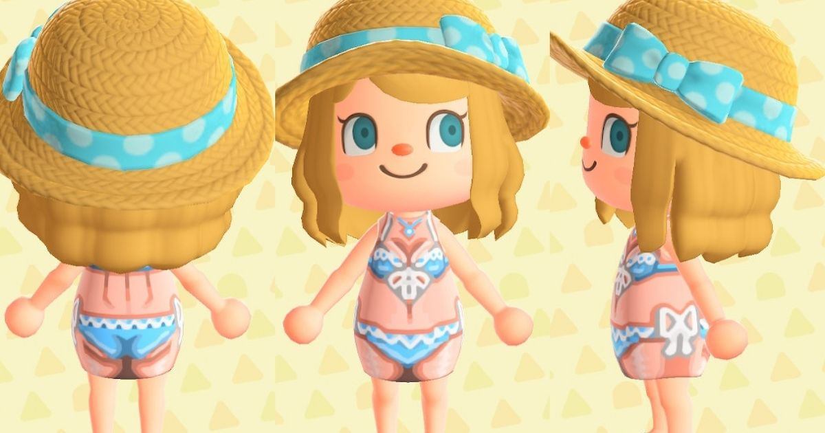 A collection of Animal Crossing swimsuits original designs - Perfect for Your Summer in Animal Crossing!