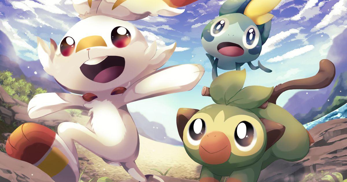 Pokemon Sword and Shield Fan Art - Off to Galar!