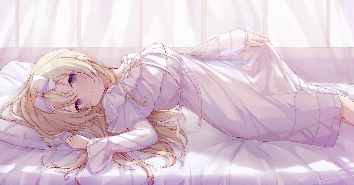 Drawings of Girls Wearing Nightgowns - Lovely Sleeping Beauties