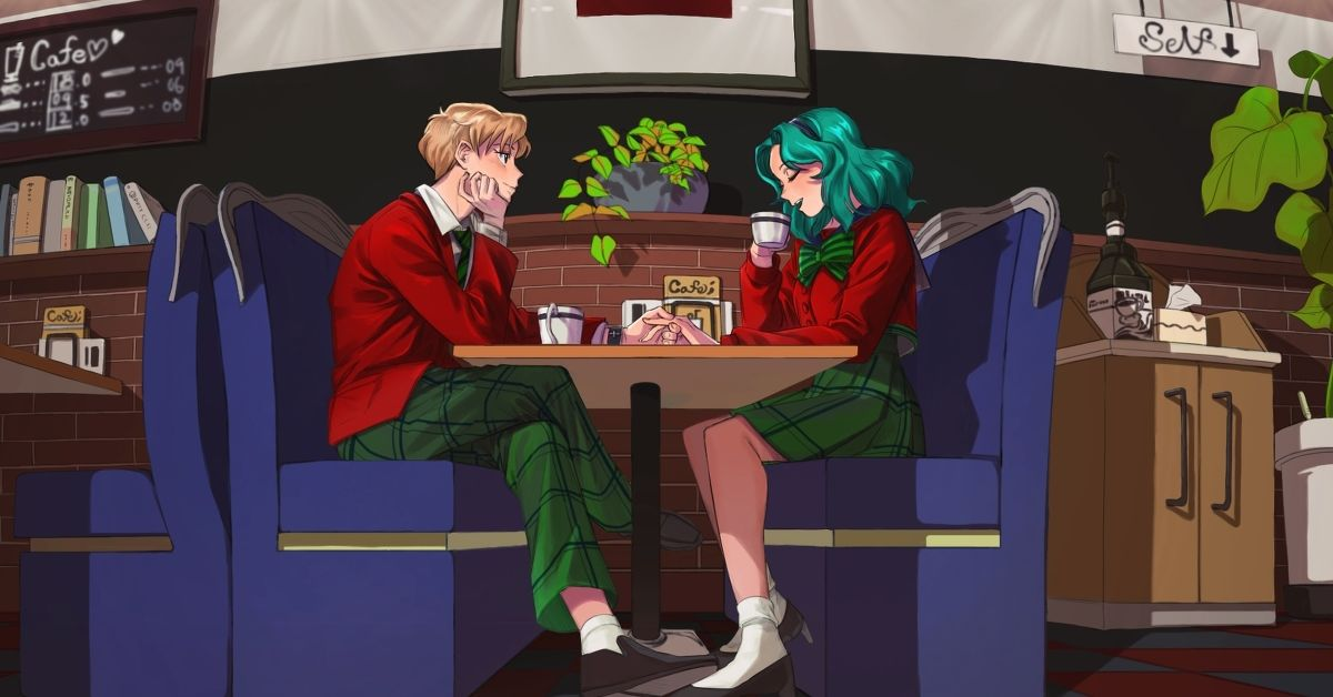 Drawings of Romantic Dates - Just for Two ♡