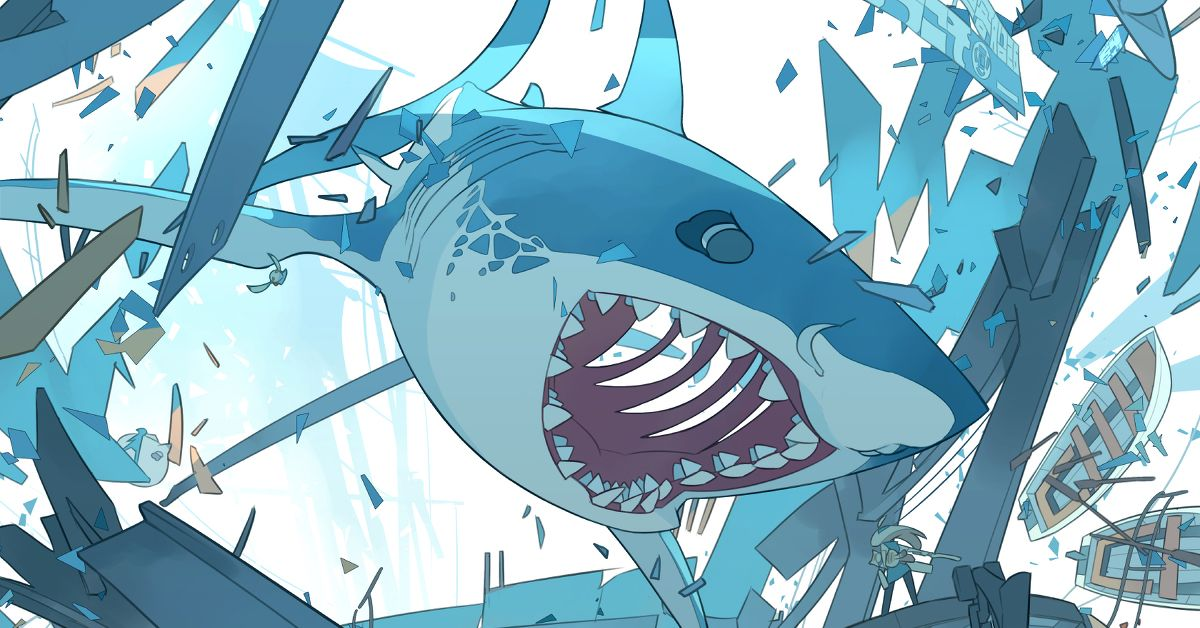Drawings of Sharks - A! Terror Lurking Beneath the Surface?