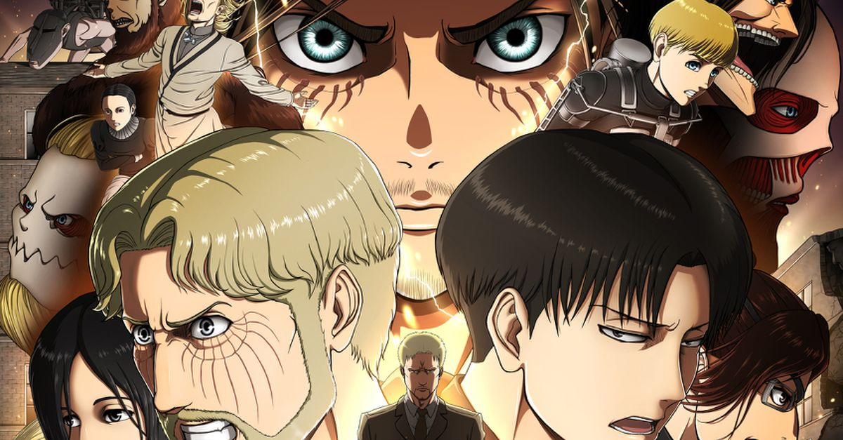 Fan Art from Attack on Titan (Shingeki no Kyojin) - The Series Comes to a Close!