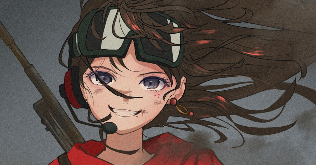 Drawings of Girls Wearing Goggles - Cool and Sporty!