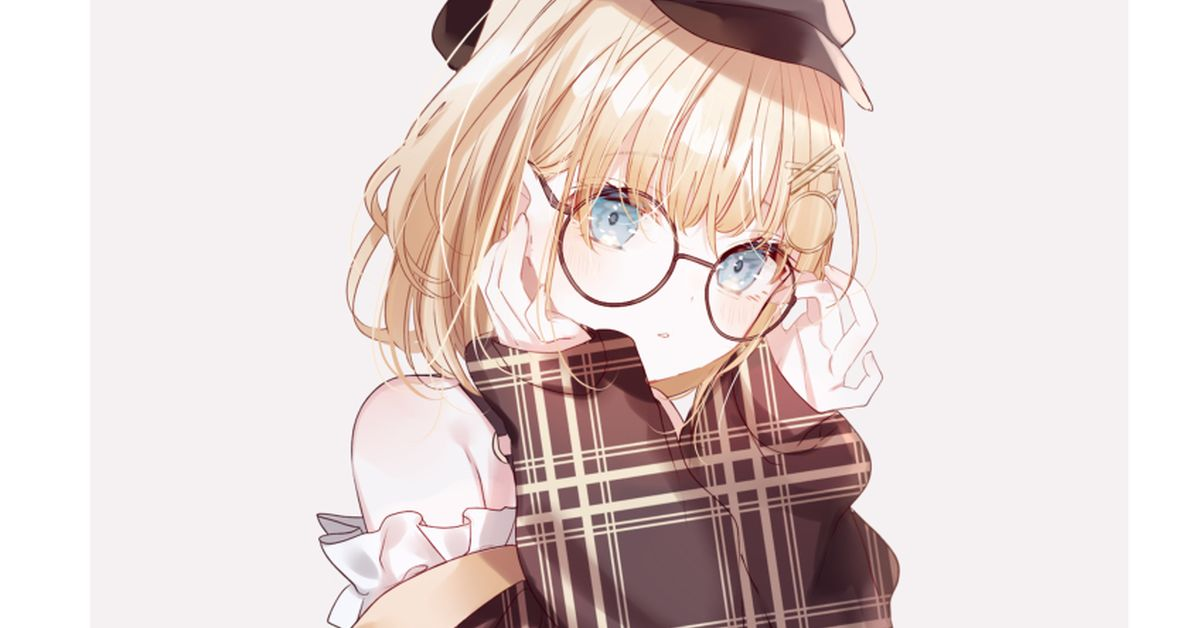 Drawings of the Cute Librarian Look - The Charm of Glasses