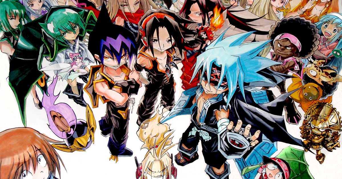 Fan Art From Shaman King - Communing with the Spirits