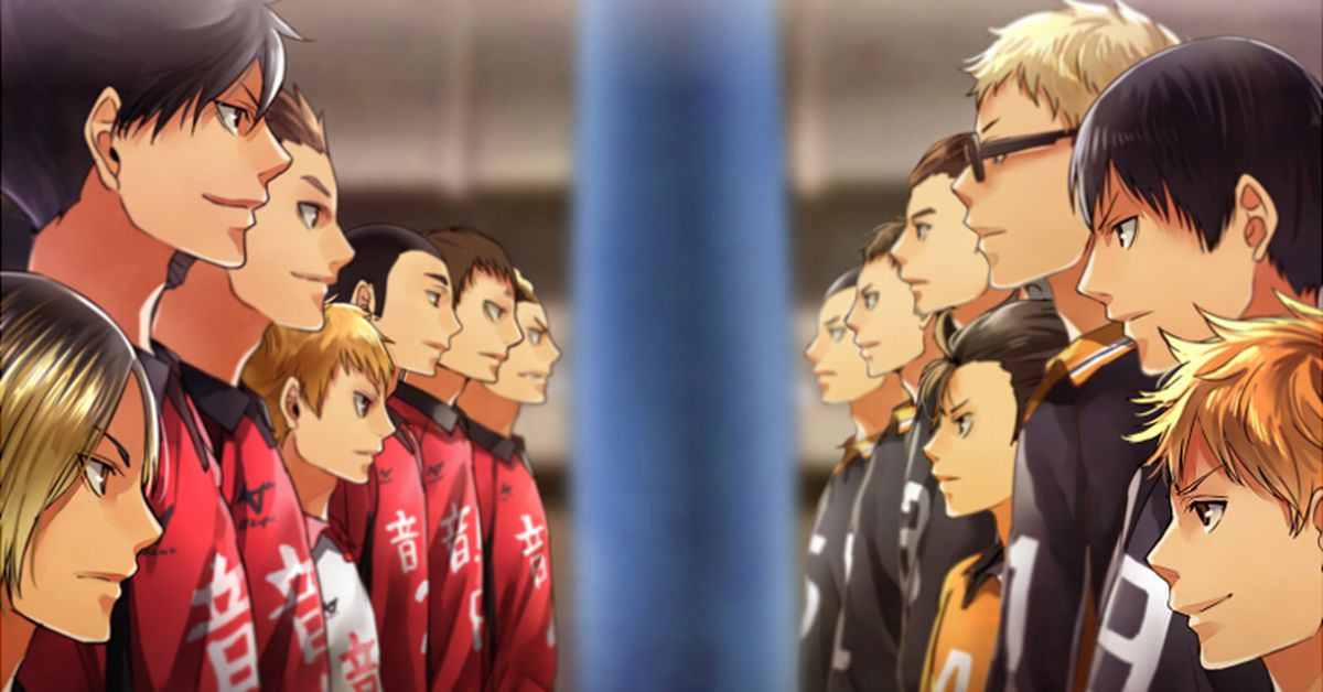 Haikyu!! Final Episode Fan Art Special - Rival Schools of All Japan - The story has reached its peak!