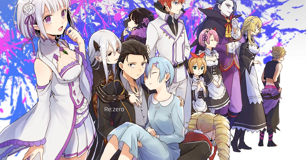 "Fan art from ""Re:ZERO -Starting Life in Another World-"" - All rise for Season 2!"