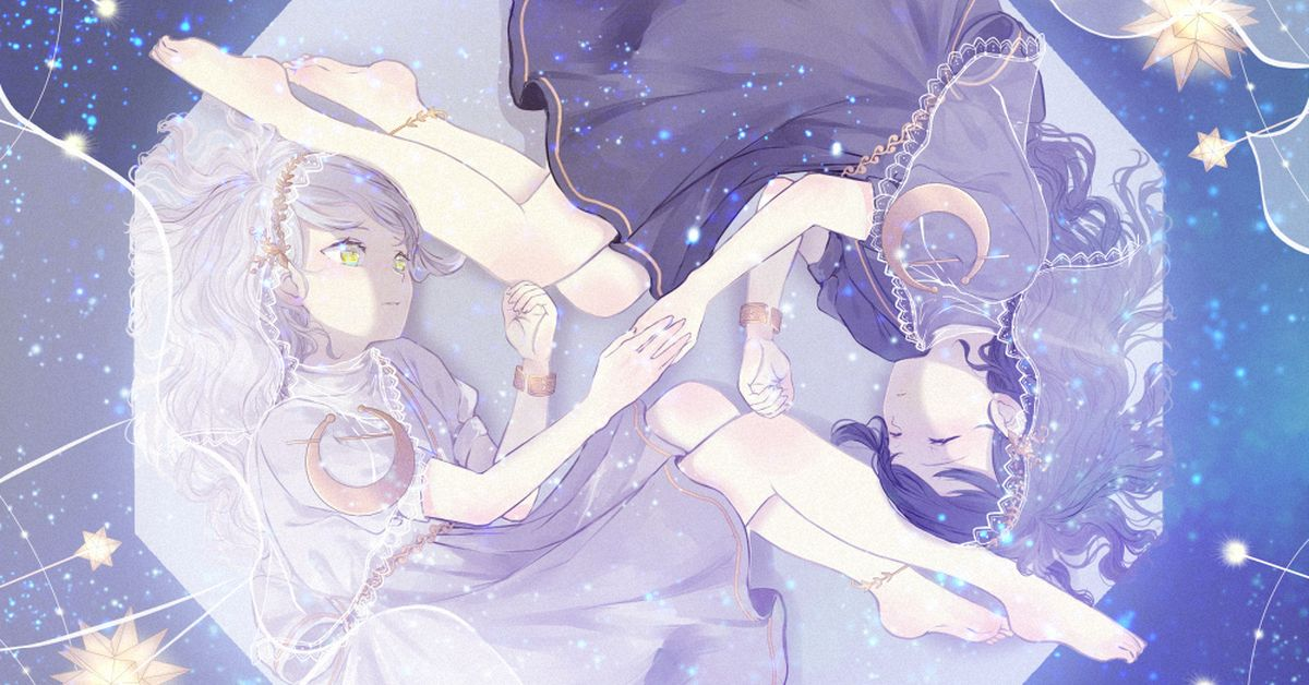 Drawings of Starry Sky Combination - Wearing the Sparkles of the Universe.