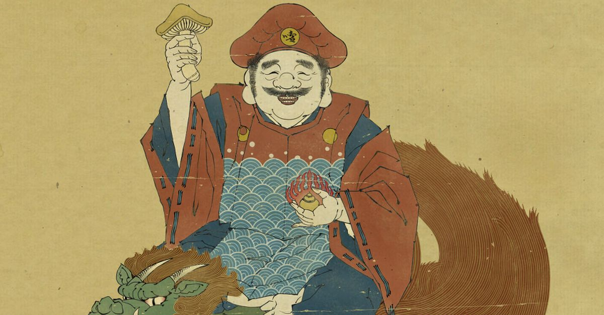 Drawings in a Traditional Japanese Style - A Fusion of Tradition and Innovation.