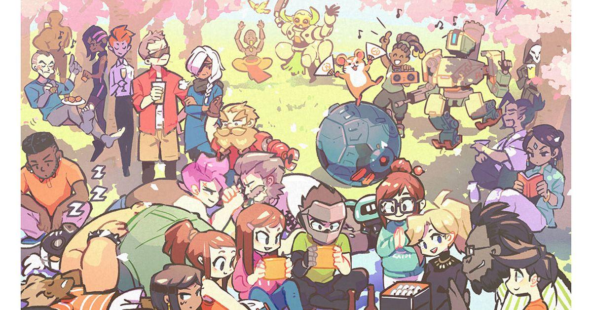 Drawings of Hanami - Let's Celebrate Spring Together!